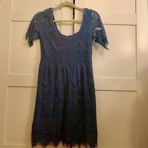 Urban Outfitters Periwinkle Blue Lace Dress